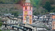 Medieval Tower of a French Church video