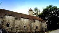Medieval towers - part of the city wall. Tallinn, Estonia video