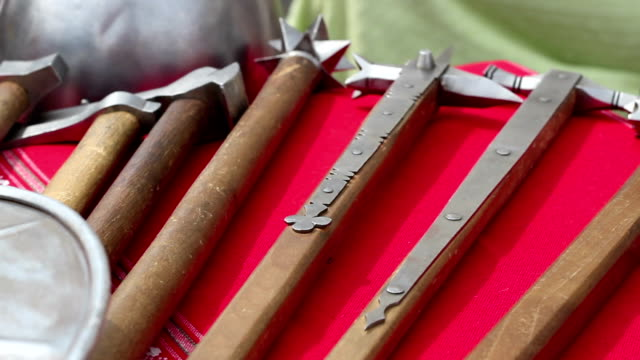 Medieval Weapons video
