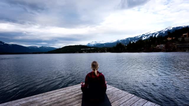 Meditation and Yoga concepts video