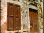 Mediterranean Ancient Door and Window video