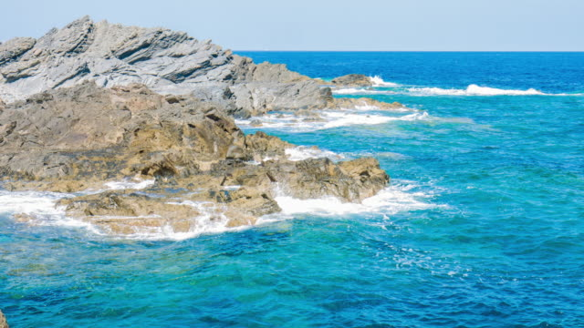 Mediterranean coastline video