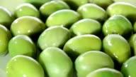 Mediterranean food, olives video