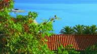 Mediterranean landscape video