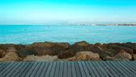 Mediterranean Sea nature background video