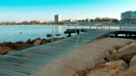 Mediterranean Sea, summer morning, Spain, Europe video