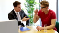 Meeting between Student and Teacher video