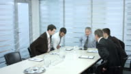 Meeting business. video