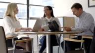 Meeting three people B video