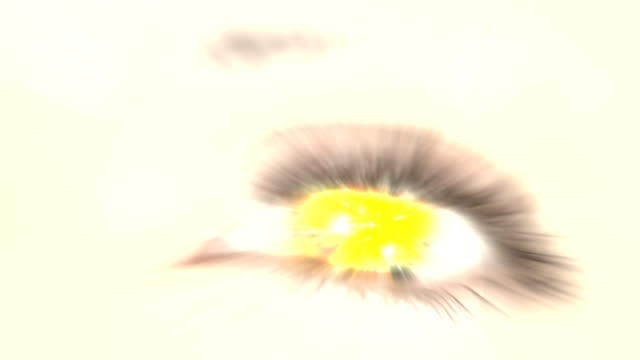 Mega Explosion in the Eye. HD video