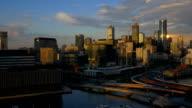 Melbourne, Australia: at sunset video