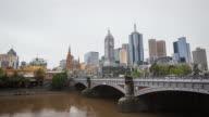 4K Melbourne city time lapse video
