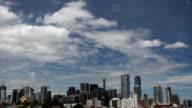 Melbourne City timelapse daytime HD video