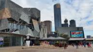 Melbourne City Victoria Australia - Federation Square video