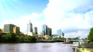 Melbourne Cityscape Timelapse video