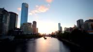 Melbourne River Sunet video