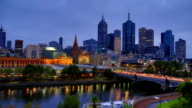 Melbourne: Sunrise time lapse video