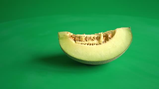 melon on green screen video