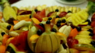 Melon with fruit video