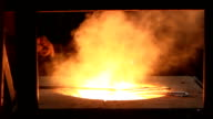 Melting Metal in the Foundry video