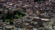 Melton Mowbray  - Aerial View - England, Leicestershire, Melton District, United Kingdom video