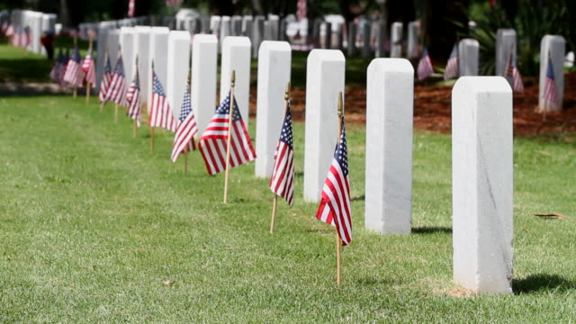 Memorial Day Cemetery video