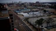 Memphis Aerial Union Avenue video