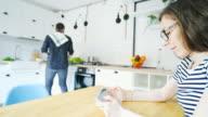 Men cooking. video