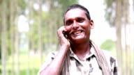 Men Talking on Mobile Phone video