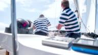 MS ZI Men Tightening The Sail video