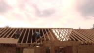 Men Working Construction video