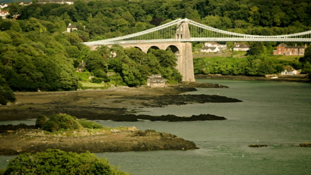 Menai Suspension Bridge video