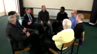 Men's small support group - HD CRANE video