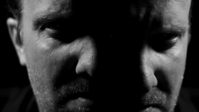 Mental illness personality disorder insane schizophrenia abstract video