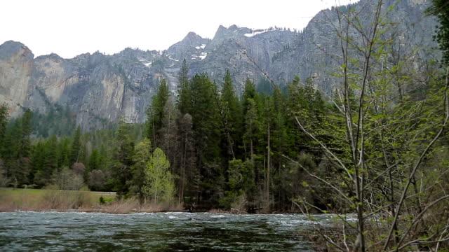 Merced River In Yosemite National Park video