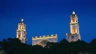 TIME LAPE: Merida Cathedral, Mexiko video
