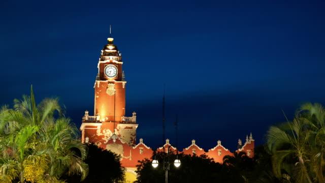 TIME LAPSE: Merida Town Hall, Mexico video