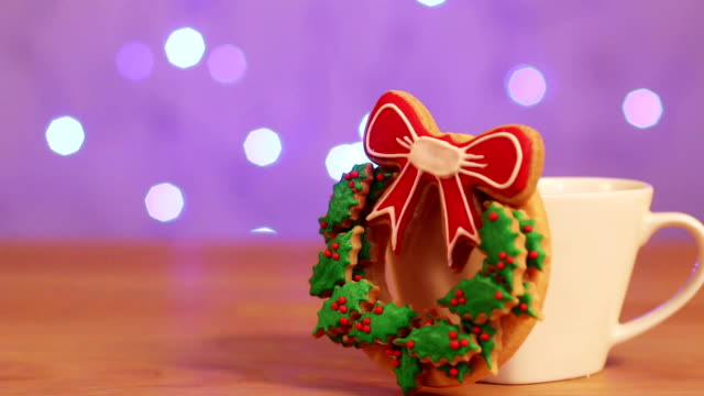 merry christmas and  happy new year decoration video