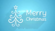 merry christmas greeting last 5s loopable video