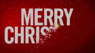 Merry Christmas Light Wall video