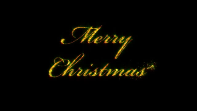 Merry Christmas, loopable from 8:00-12:00, with matte video