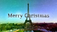 merry christmas Paris video