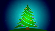 Merry Christmas Tree video