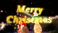 Merry Christmas with Snowmen video