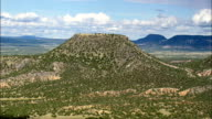 Mesa Tinaja  - Aerial View - New Mexico, Catron County, United States video