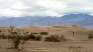 Mesquite Sand Dunes-Death Valley National Park Time Lapse video