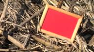 HD: Message Board On A Field video