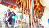 Metal arc welding video