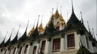 Metal Castle Temple (Loha Prasart), Bangkok video