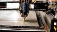 Metal cutting laser video